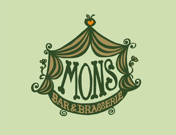 Mons Bar & Brasserie – Logotype