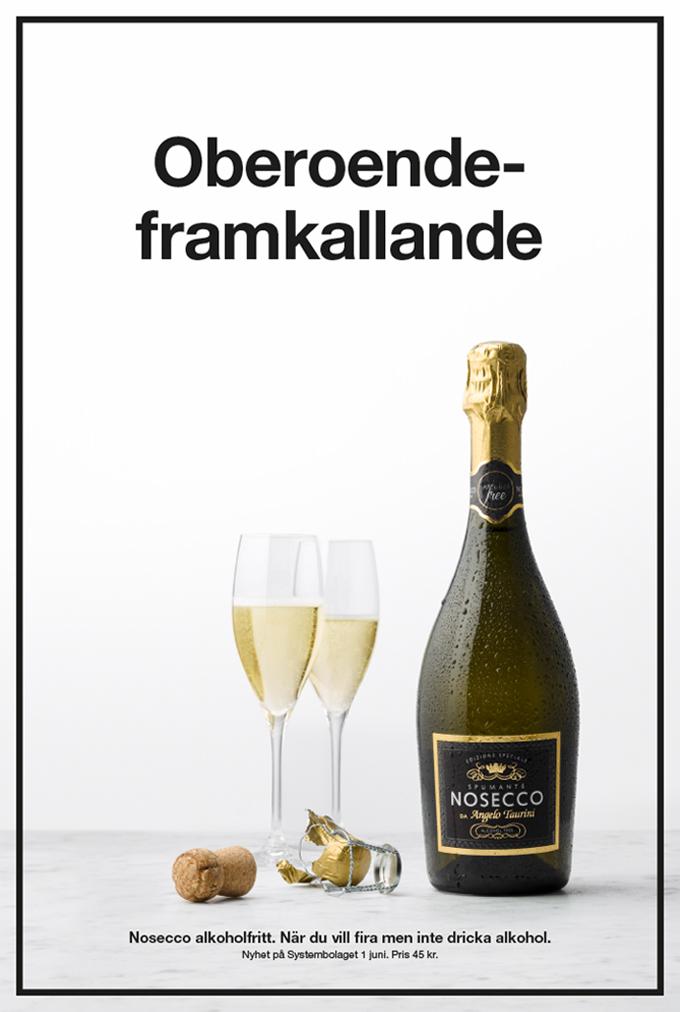 Nosecco – När du vill fira men inte dricka alkohol